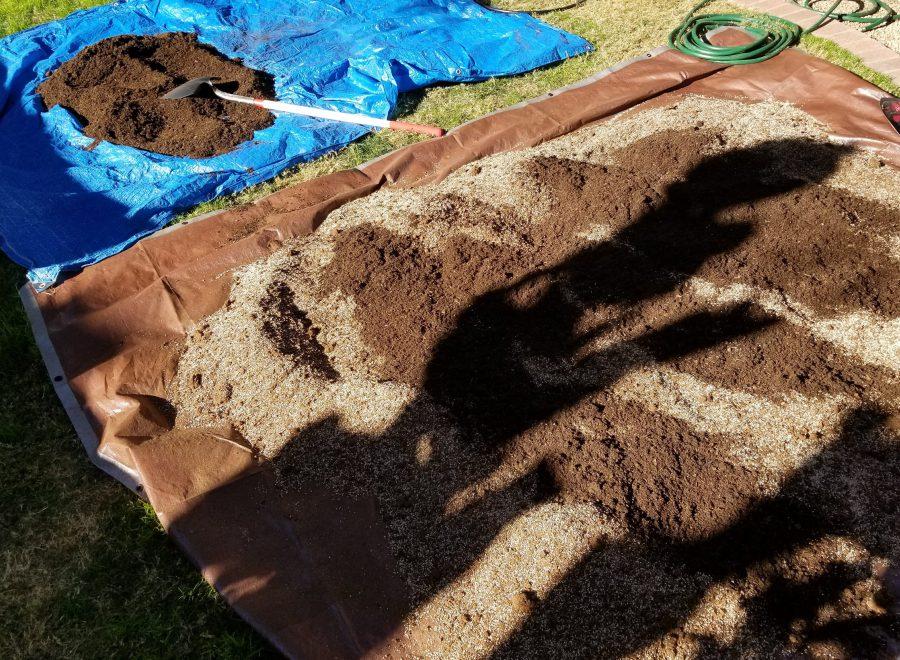 Dirt Mixing