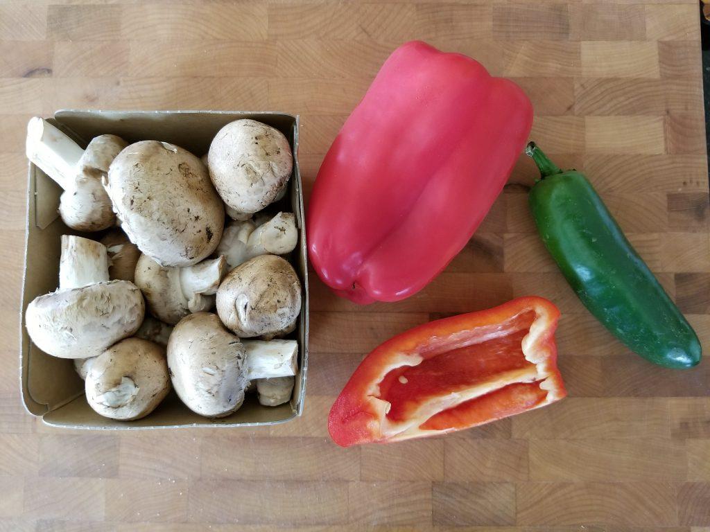 veggies pre-chop