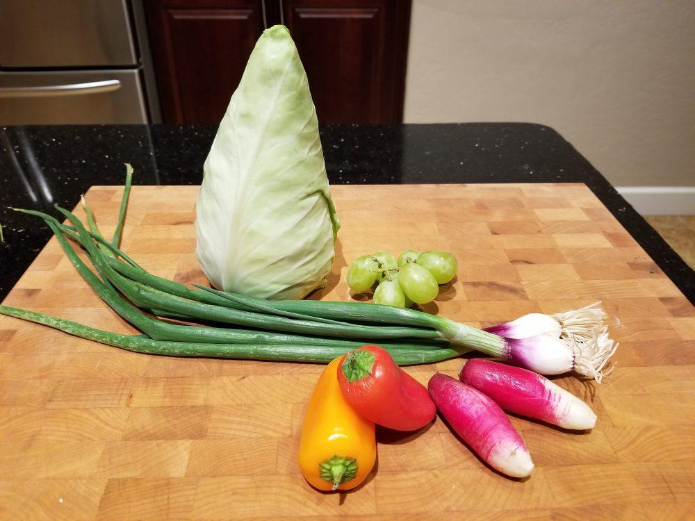 conehead cabbage salad