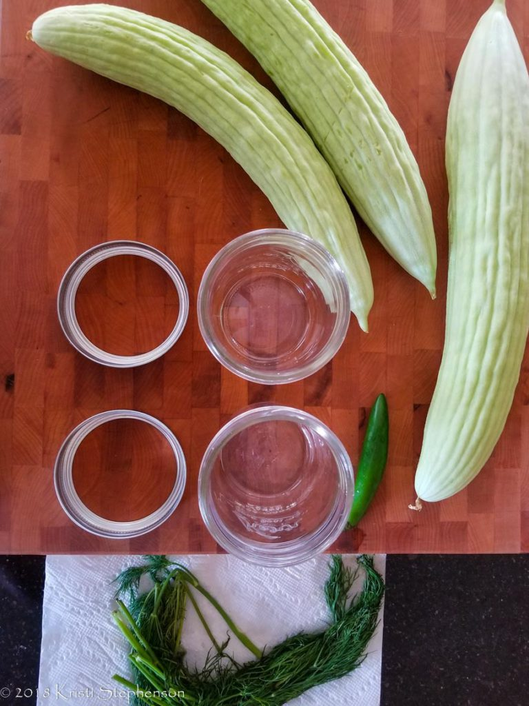 Pickle ingredients