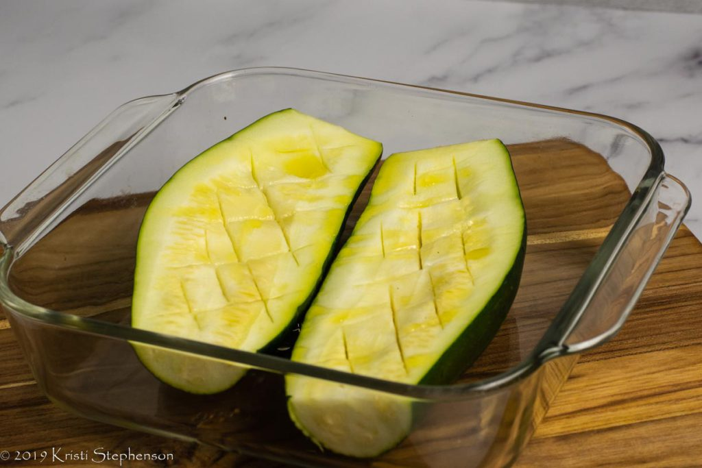 pre-baked zucchini