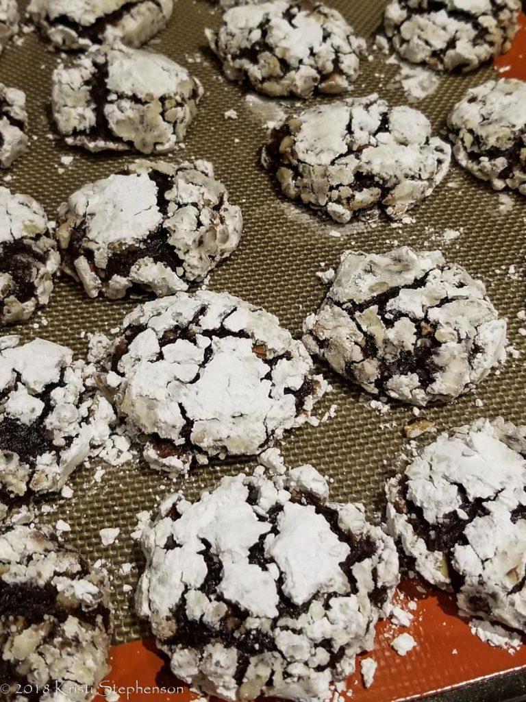 Holiday Baking: Chocolate banana pecan cookies