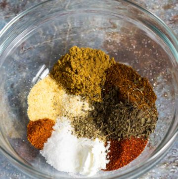 Taco seasoning spice mix