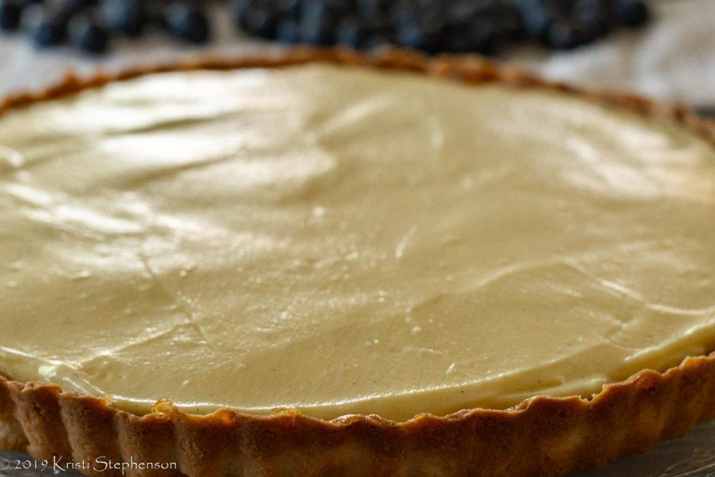 fruit tart crust and filling