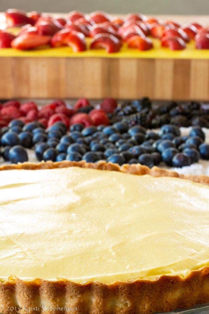 fruit tart berry lineup