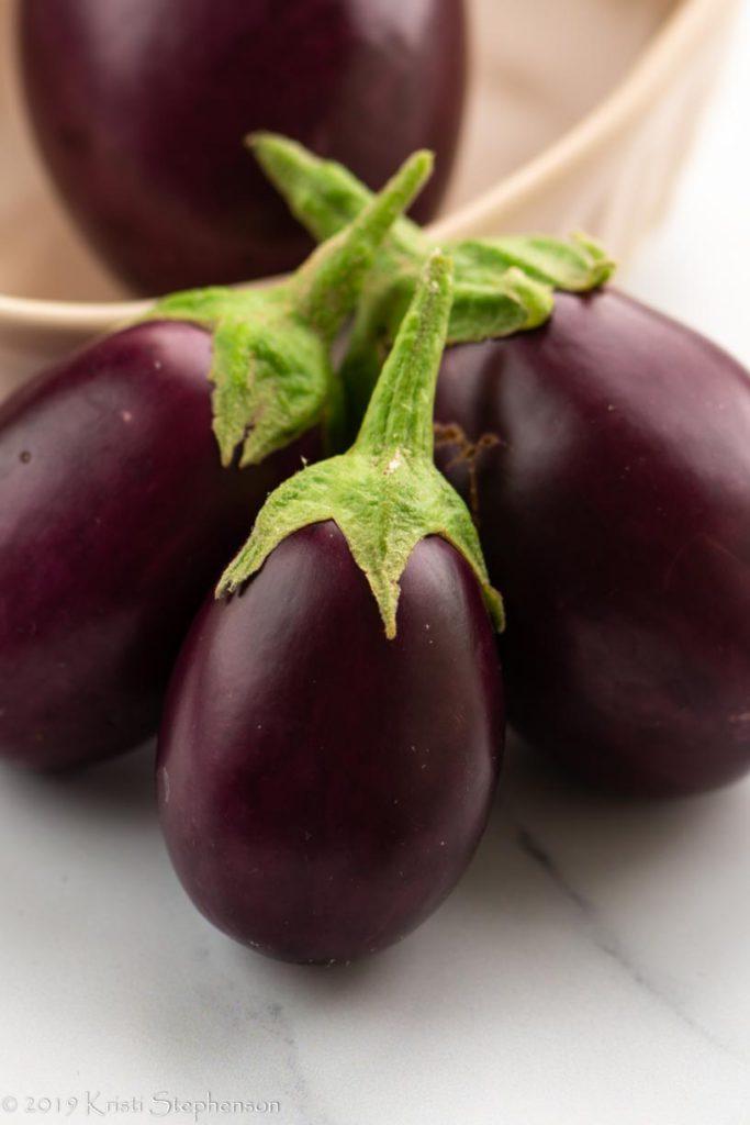 small eggplants
