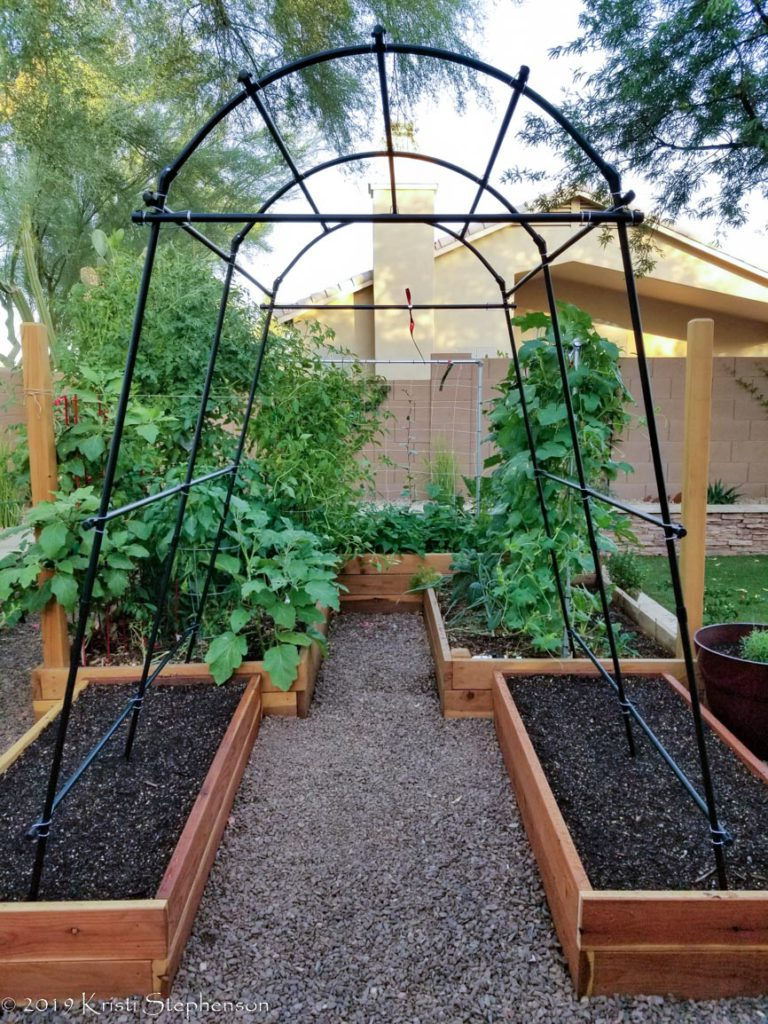 outdoor garden expansion