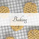 Picture of cookies representing the baking category