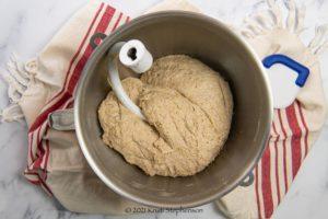 final mixed dough