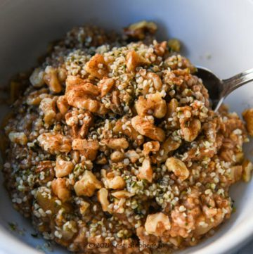 bowl of steel cut oats