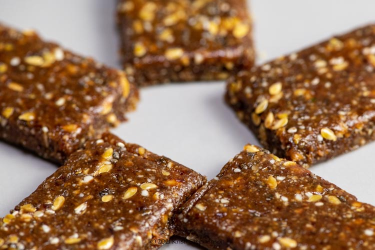 date nut energy bars