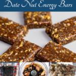 pinterest image for date nut bars