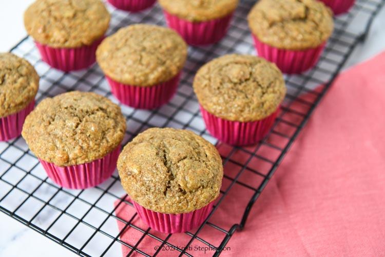 cooling bran muffins