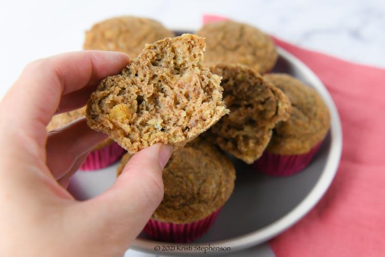 bran muffin texture