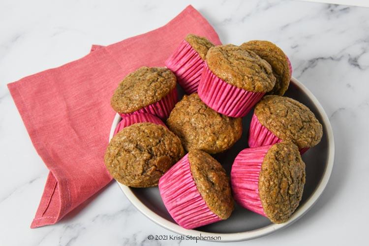 finished bran muffins