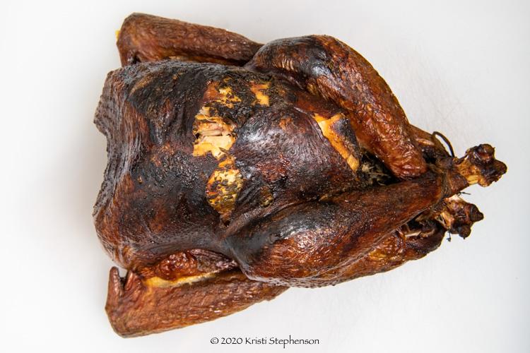 finished smoked turkey